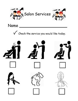 Dramatic Play - Hair Salon