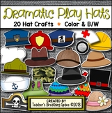 Dramatic Play Hats --- 20 Community Helper & Dramatic Play Hat Crafts