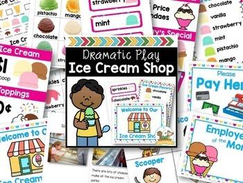 Ice Cream Dramatic Play