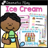 Ice Cream Dramatic Play