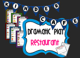 Dramatic Play - Kinder Cafe Restaurant