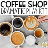 Dramatic Play Kit for Special Education: Coffee Shop Edition