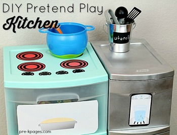 Dramatic Play Kitchen Printables