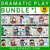 Dramatic Play Bundle 1 for Preschool, Pre-K and Kindergarten