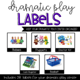 Dramatic Play Labels