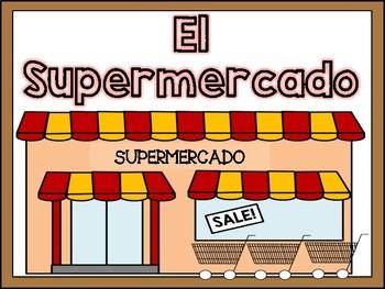 Dramatic Play Literacy Center - Supermarket Themed