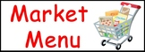 Dramatic Play Market Labels