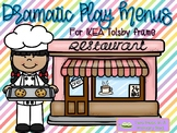 Dramatic Play Menus for use with IKEA Tolsby Frames