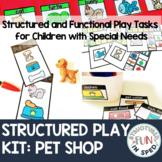Dramatic Play for Special Education Preschool: Pet Shop