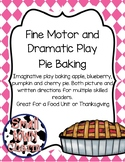 Dramatic Play Pie Baking