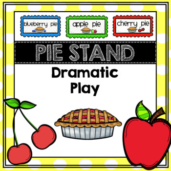 Dramatic Play Pie Stand Preschool, PreK, TK, Kinder