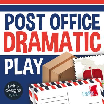 Dramatic Play Post Office - Preschool and Kindergarten