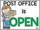 Dramatic Play Post Office for Preschool, Pre-K, Early Childhood, Special Needs