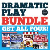 Dramatic Play Post Office, Veterinarian, Hospital, Restaurant - BUNDLE ONE