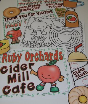Dramatic Play Restaurant Apple Theme Food Activities Apple Centers Housekeeping