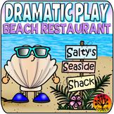 Dramatic Play Restaurant Beach Activities Under The Sea Centers Ocean Theme