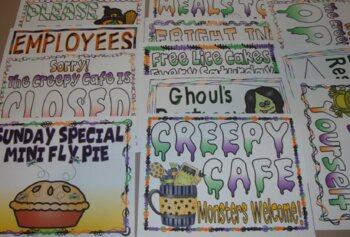 Dramatic Play Restaurant Halloween Centers Autumn Activities Fall Centers
