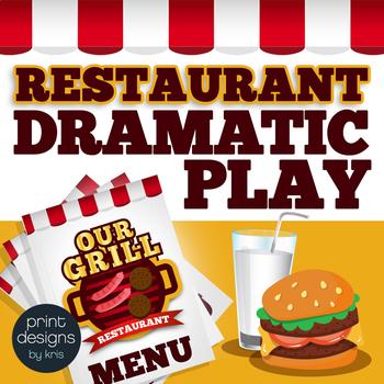 Dramatic Play Restaurant - Preschool and Kindergarten