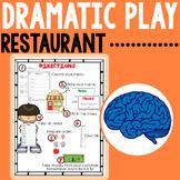 Restaurant Dramatic Play for Preschool & Kindergarten
