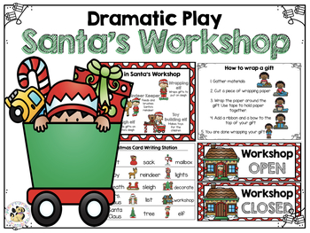 Dramatic Play: Santa's Workshop