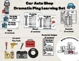 Dramatic Play Set Auto Shop Car Mechanic
