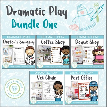 Dramatic Play Bundle - Prep and Foundation Imagintive Play Resources