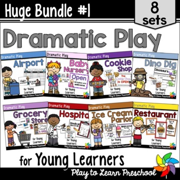 Dramatic Play Bundle 1