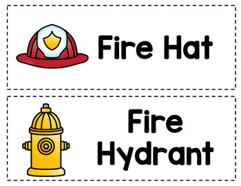 Dramatic Play Set - Fire Fighter Station