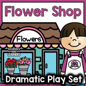 Dramatic Play Set - Flower Shop