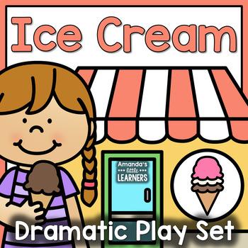 Dramatic Play Set - Ice Cream Shop