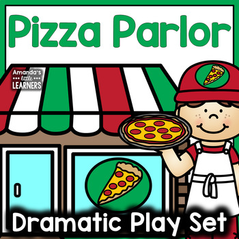Dramatic Play Set - Pizza Parlor