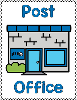 Dramatic Play Set - Post Office
