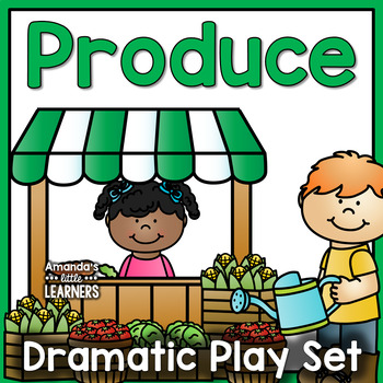 Dramatic Play Set - Produce Stand