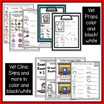 Dramatic Play & Thematic Unit: Vet Clinic