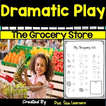The Grocery Store   Dramatic Play Center   Props