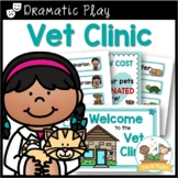Dramatic Play Vet Clinic Kit for Pre-K and Kindergarten
