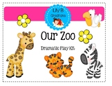 Our Zoo ~  Dramatic Play Kit