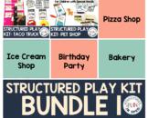 Dramatic Play for Special Education Preschool BUNDLE 1