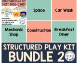 Dramatic Play for Preschool Special Education BUNDLE 2