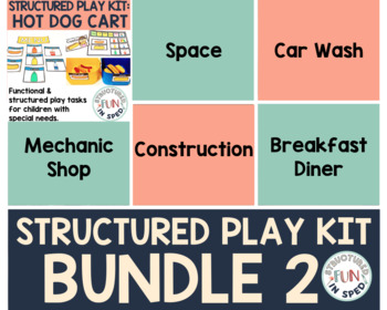 Dramatic Play for Preschool Special Education: Hot Dog Cart
