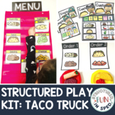 Dramatic Play for Special Education Preschool: Taco Truck