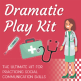 Dramatic Social Play Kit: Practice Role-Playing with 7 Interactive Scenes