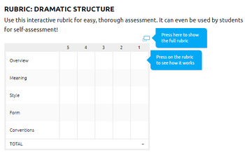 Dramatic Structure Activities: Dramatic Structure, Applying Dramatic Structure