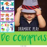 """Dramatic play """"Shopping"""" for Spanish kindergarten Juego dramático """"De compras"""""""