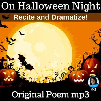 "Dramatization Poem  | ""On Halloween Night"" | Poem mp3"