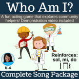 """Dramatization Singing Game 