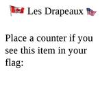 Drapeaux Tally Chart