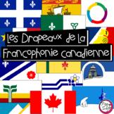 Drapeaux de la Francophonie canadienne