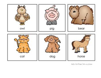 ABC Order Game - Animal Theme