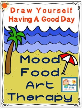 Cognitve Behavioral (CBT) Art Therapy Worksheets to Improve A Bad Mood